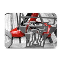 TT RED HEELS Small Door Mat