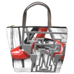 TT RED HEELS Bucket Bag