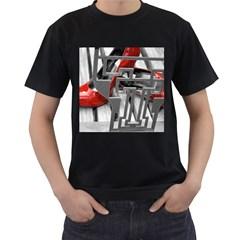 TT RED HEELS Mens' T-shirt (Black)