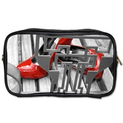 Tt Red Heels Travel Toiletry Bag (two Sides)