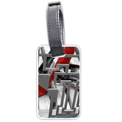 TT RED HEELS Luggage Tag (Two Sides)