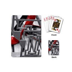 TT RED HEELS Playing Cards (Mini)