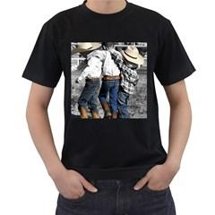 Cowboys Mens' Two Sided T Shirt (black)