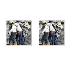 COWBOYS Cufflinks (Square)