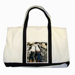COWBOYS Two Toned Tote Bag