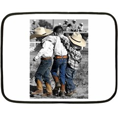 COWBOYS Mini Fleece Blanket (Two-sided)
