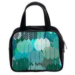 Chevrons Classic Handbag (Two Sides)