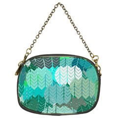 Chevrons Chain Purse (Two Side)