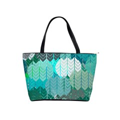 Chevrons Large Shoulder Bag