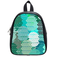 Chevrons School Bag (small)