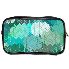 Chevrons Travel Toiletry Bag (Two Sides)