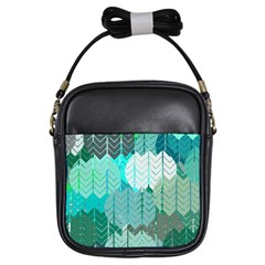 Chevrons Girl s Sling Bag