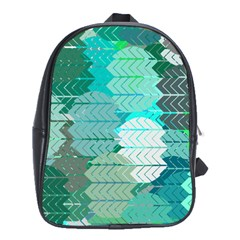 Chevrons School Bag (XL)