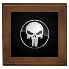 The Punisher Wallpaper  Framed Ceramic Tile