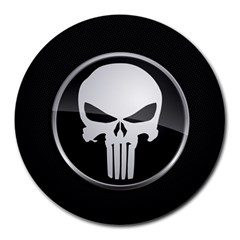 The Punisher Wallpaper  8  Mouse Pad (round)