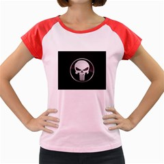 The Punisher Wallpaper  Women s Cap Sleeve T-Shirt (Colored)