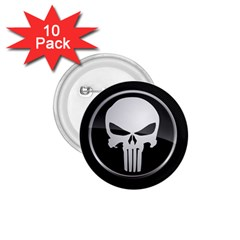 The Punisher Wallpaper  1 75  Button (10 Pack)