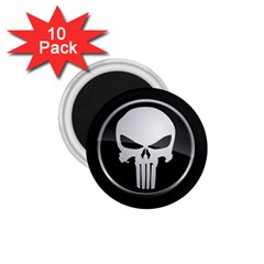 The Punisher Wallpaper  1.75  Button Magnet (10 pack)