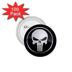 The Punisher Wallpaper  1 75  Button (100 Pack)