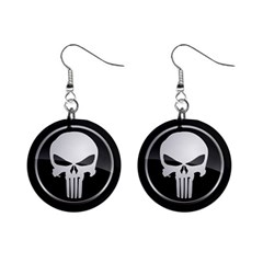 The Punisher Wallpaper  Mini Button Earrings
