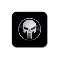 The Punisher Wallpaper  Drink Coaster (square)