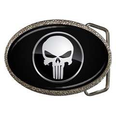 The Punisher Wallpaper  Belt Buckle (oval)