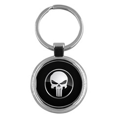 The Punisher Wallpaper  Key Chain (Round)