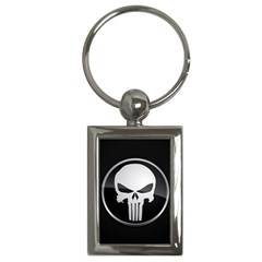 The Punisher Wallpaper  Key Chain (Rectangle)