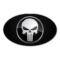 The Punisher Wallpaper  Magnet (Oval)