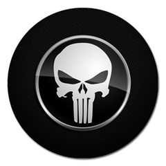 The Punisher Wallpaper  Magnet 5  (Round)