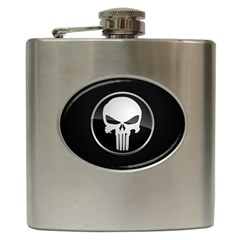 The Punisher Wallpaper  Hip Flask