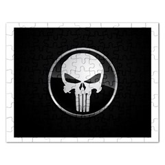 The Punisher Wallpaper  Jigsaw Puzzle (rectangle)