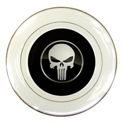 The Punisher Wallpaper  Porcelain Display Plate