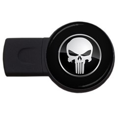 The Punisher Wallpaper  4GB USB Flash Drive (Round)