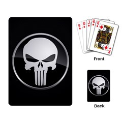 The Punisher Wallpaper  Playing Cards Single Design