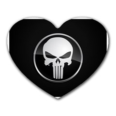 The Punisher Wallpaper  Mouse Pad (Heart)