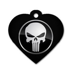 The Punisher Wallpaper  Dog Tag Heart (Two Sided)