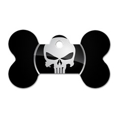 The Punisher Wallpaper  Dog Tag Bone (One Sided)