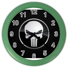 The Punisher Wallpaper  Wall Clock (Color)