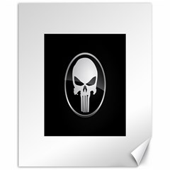 The Punisher Wallpaper  Canvas 11  x 14  9 (Unframed)