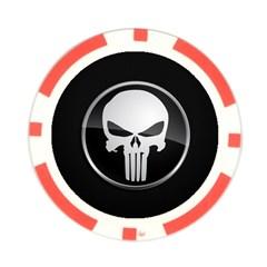 The Punisher Wallpaper  Poker Chip