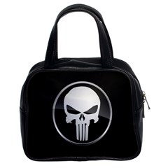 The Punisher Wallpaper  Classic Handbag (Two Sides)
