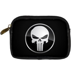 The Punisher Wallpaper  Digital Camera Leather Case