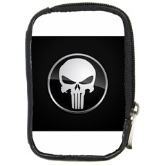 The Punisher Wallpaper  Compact Camera Leather Case