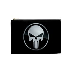 The Punisher Wallpaper  Cosmetic Bag (medium)