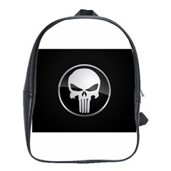 The Punisher Wallpaper  School Bag (Large)