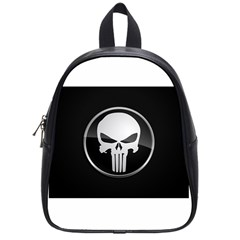 The Punisher Wallpaper  School Bag (small)