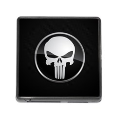 The Punisher Wallpaper  Memory Card Reader With Storage (square)