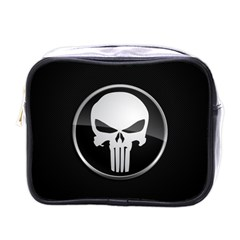 The Punisher Wallpaper  Mini Travel Toiletry Bag (One Side)