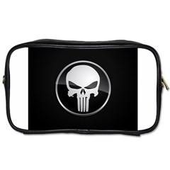 The Punisher Wallpaper  Travel Toiletry Bag (two Sides)